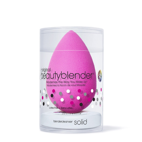 Beauty Blender ORIGINAL (pink) + Mini Solid Cleanser