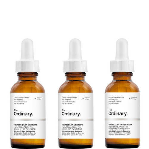 The Ordinary 3 Step Retinol Course