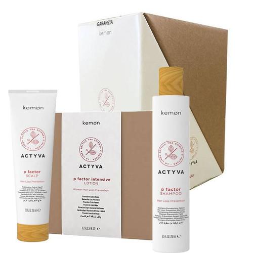 Actyva P Factor Women's Hair Loss Prevention Kit