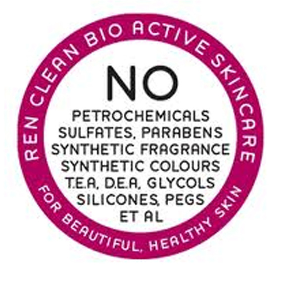 No Petrochemicals, sulphates, parabens, synthetic fragrance, synthetic colours, TEA, DEA, Glycols, Silicones, Pegs et al