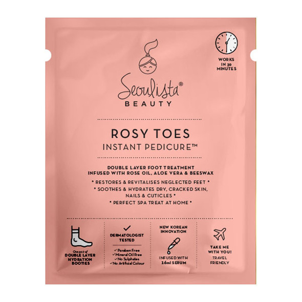 Seoulista Rosy Toes Instant Pedicure