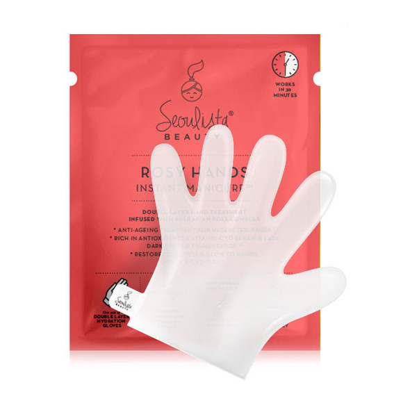 Seoulista Rosy Hands Instant Manicure WHITE