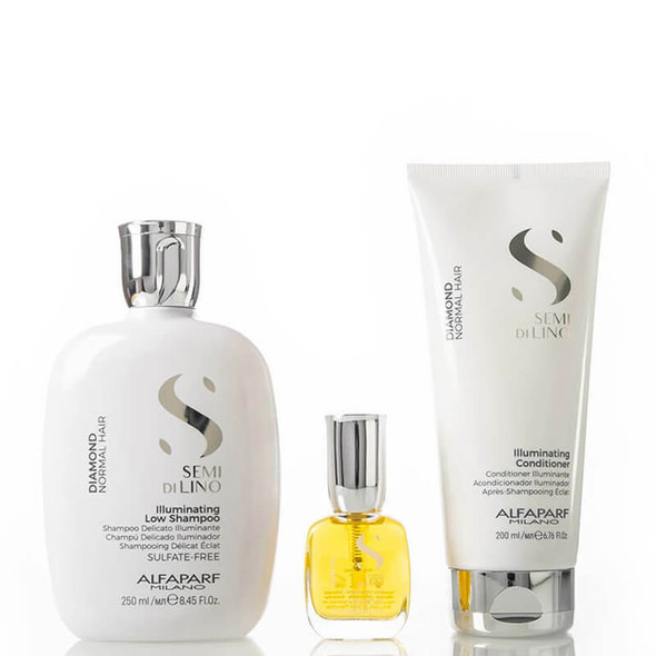 Alfaparf Semi Di Lino Diamond  Gift Set