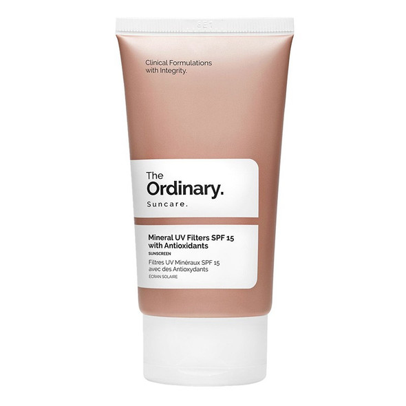 The Ordinary Mineral UV Filters SPF 15 with Antioxidants - 50ml