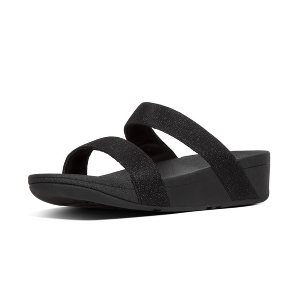 FitFlop™ Lottie Glitz™ Slide Black