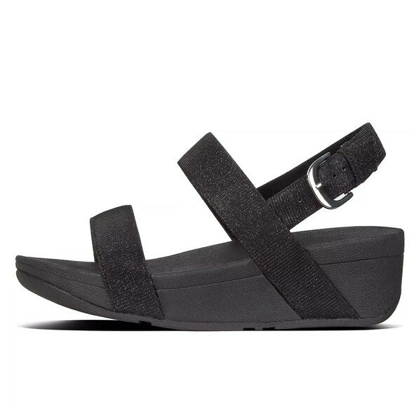 FitFlop™ Lottie Glitz™ Sandal Black side