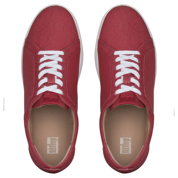 FitFlop™ Rally Sneaker - Adrenaline Red top