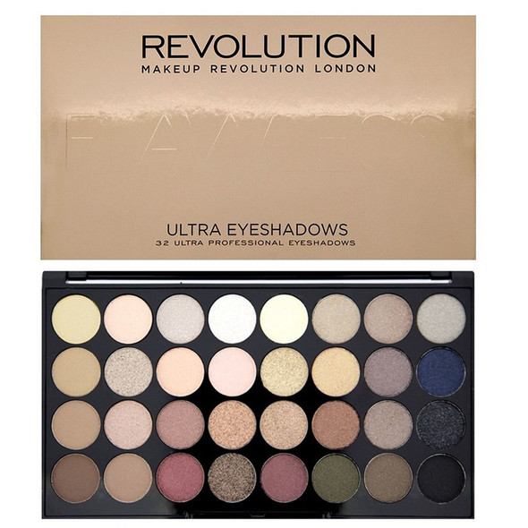 Revolution Ultra 32 Shade Eyeshadow Palette - Flawless