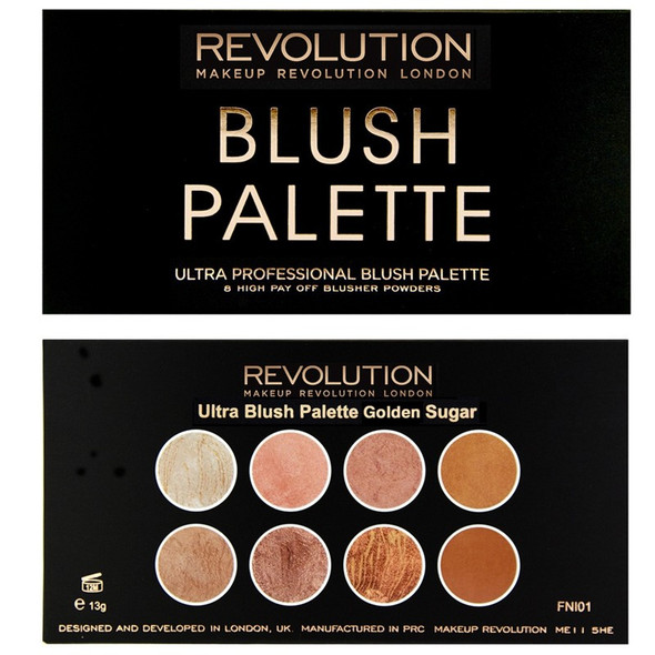 Revolution Ultra Blush Palette Golden Sugar