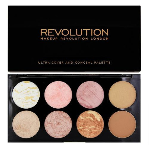 Revolution Ultra Blush Palette Golden Sugar colours