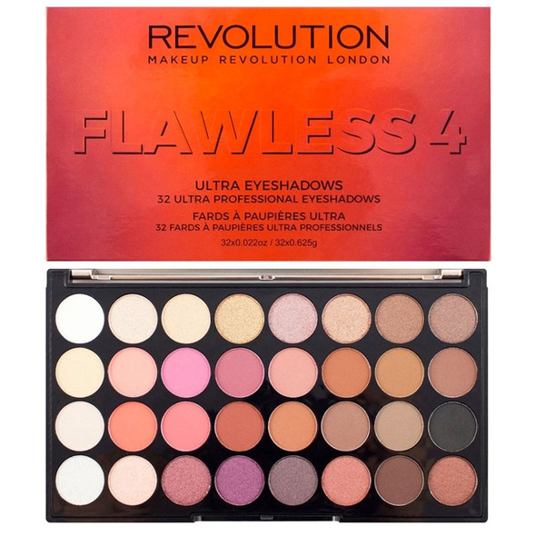 Revolution Ultra Eyeshadow Palette Flawless 4 open