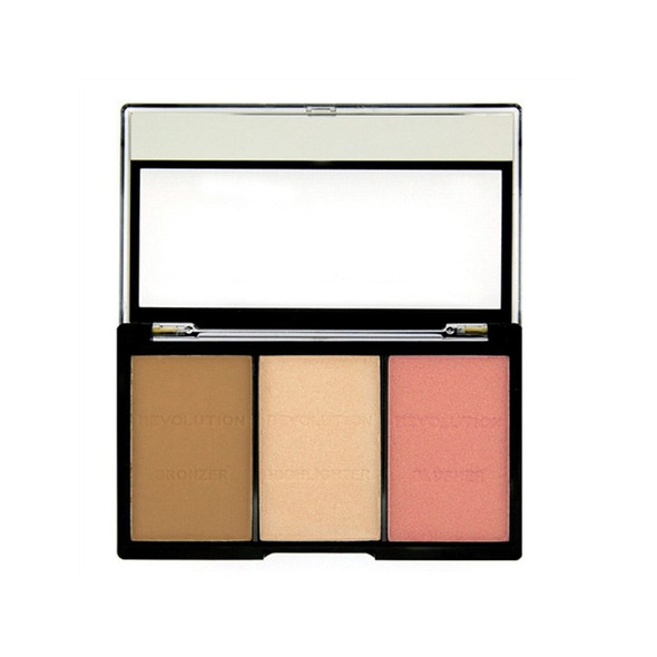 Revolution Ultra Sculpt & Contour Kit - Ultra Fair C01 open