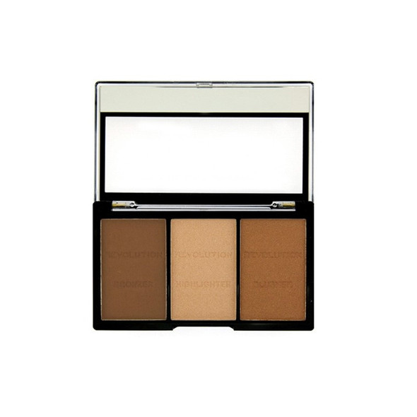 Revolution Ultra Sculpt & Contour Kit - Ultra LightMedium C04 open