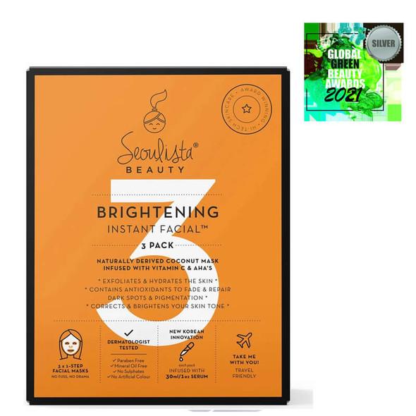 Seoulista Beauty Brightening Multi Pack 3s award