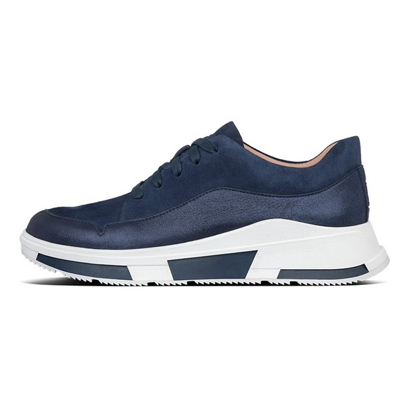 fitflop Freya Suede Sneaker Midnight Navy side