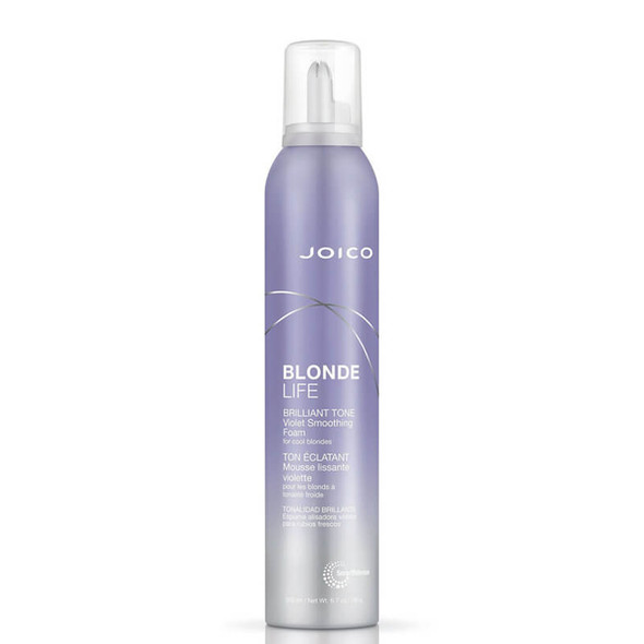 Joico Blonde Life Brilliant Tone Violet Smoothing Foam (for Cool Blondes) 200ml
