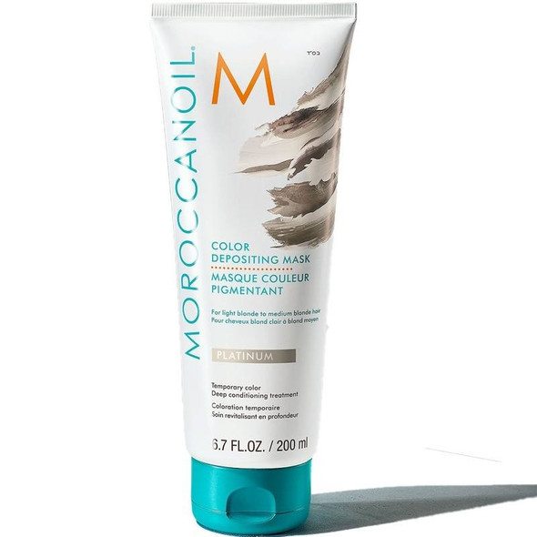 Moroccanoil Color Depositing Mask - Platinum 200ml