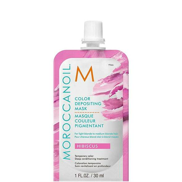 Moroccanoil Color Depositing Mask - Hibiscus 30ml