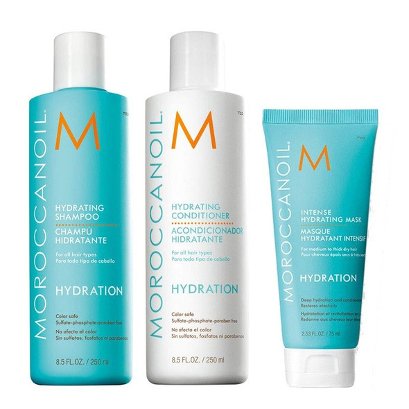 Moroccanoil Hydrating 250ml Bundle with FREE GIFT