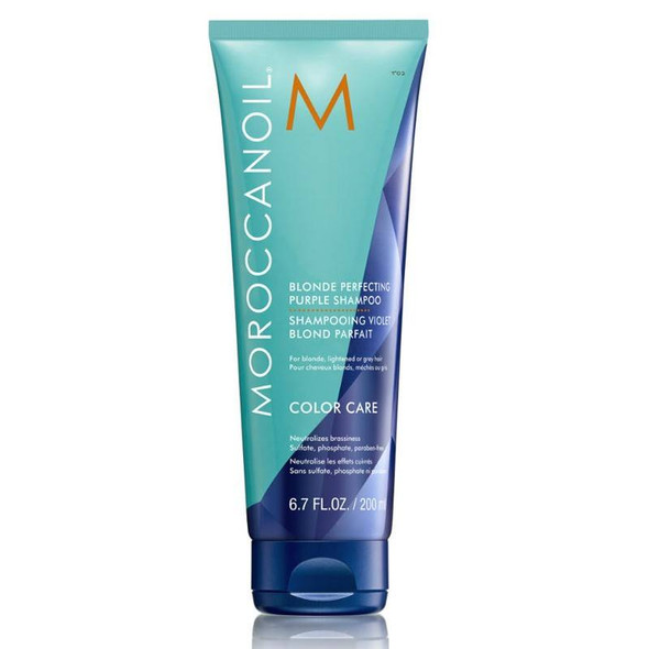 Moroccanoil Blonde Perfecting Shampoo 200ml