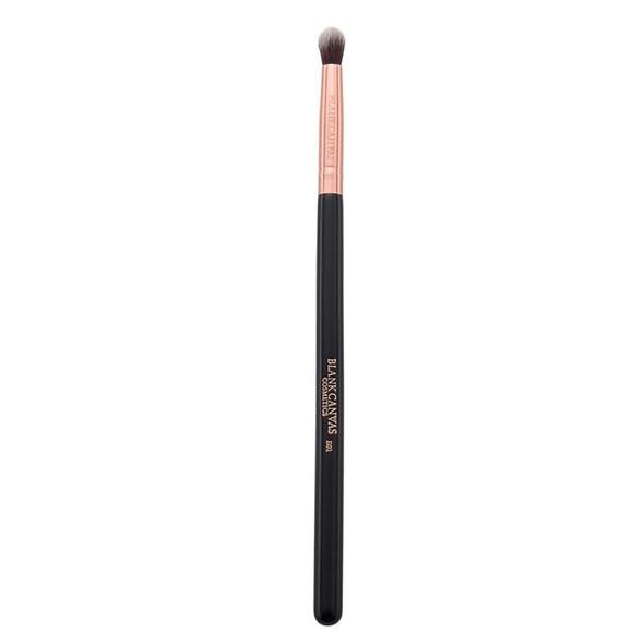 E01 Round Eye Blending Brush - Rose Gold/Black