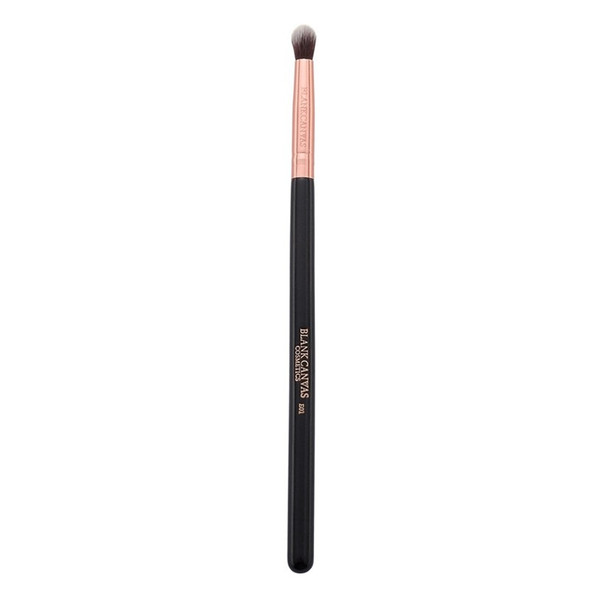 E01 Round Eye Blending Brush - Rose Gold/Black