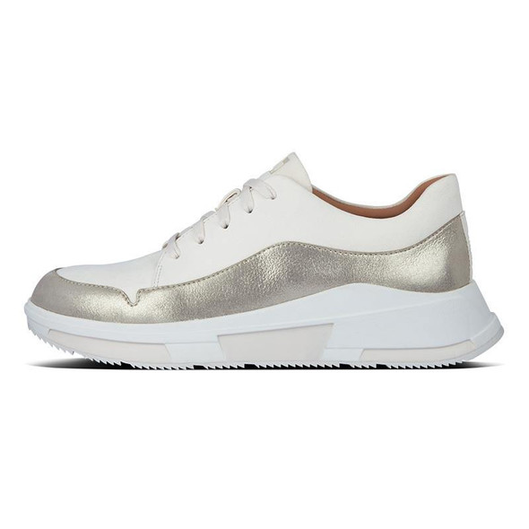 FitFlop Freya Suede Sneaker Stone side