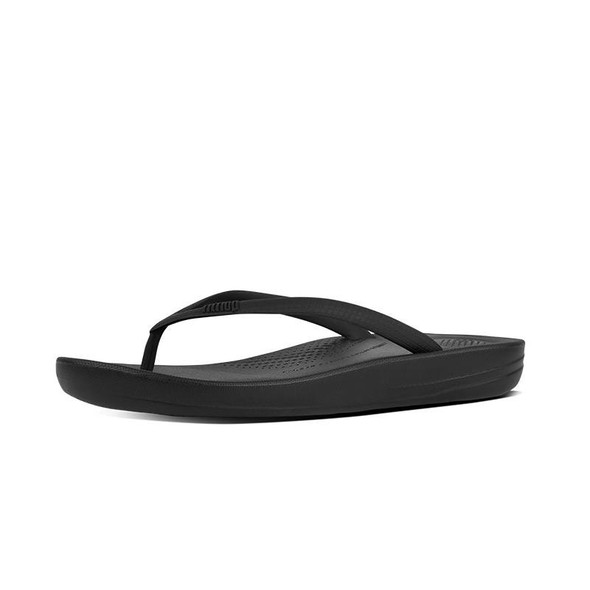 FitFlop iQushion Ergonomic Sandals All Black