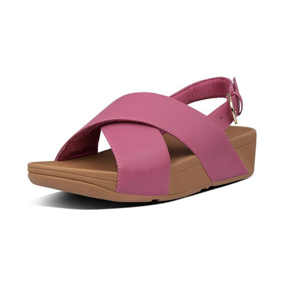 FitFlop Lulu Sandals Leather Heather Pink