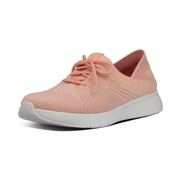 FitFlop Marbleknit Sneakers Coral