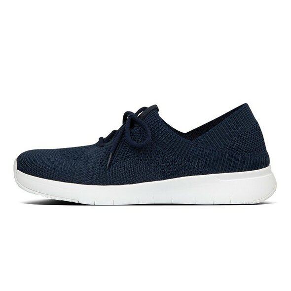 FitFlop Marbleknit Sneakers Navy side