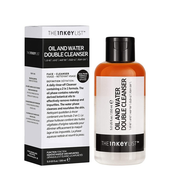 The Inkey List Oil & Water Double Cleanser 150ml