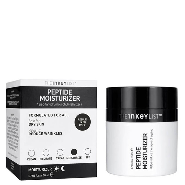 The Inkey List Peptide Moisturiser 50ml