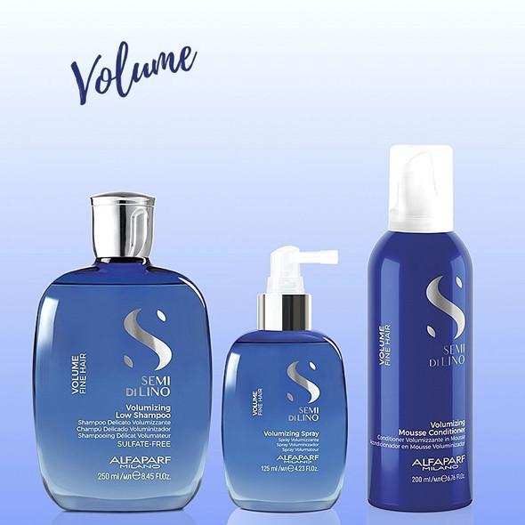 Alfaparf Semi Di Lino Volume Gift Set products Background Colour