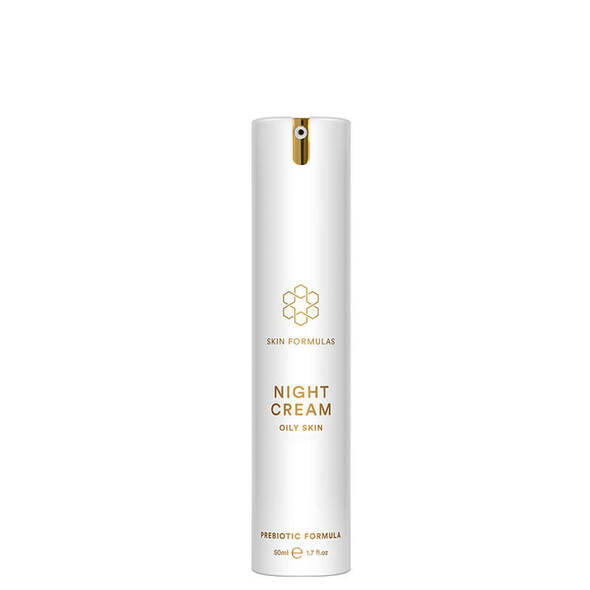Skin Formula Night Cream - Oily Skin - Prebiotic Formula - 50ml
