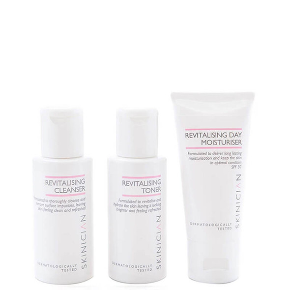 Skinician Discovery Kit - Revitalising (Cleanse, Tone, Moisturise) 150ml