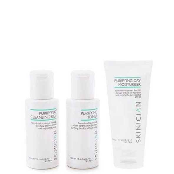 Skinician Discovery Kit - Purifying (Cleanse, Tone, Moisturise)
