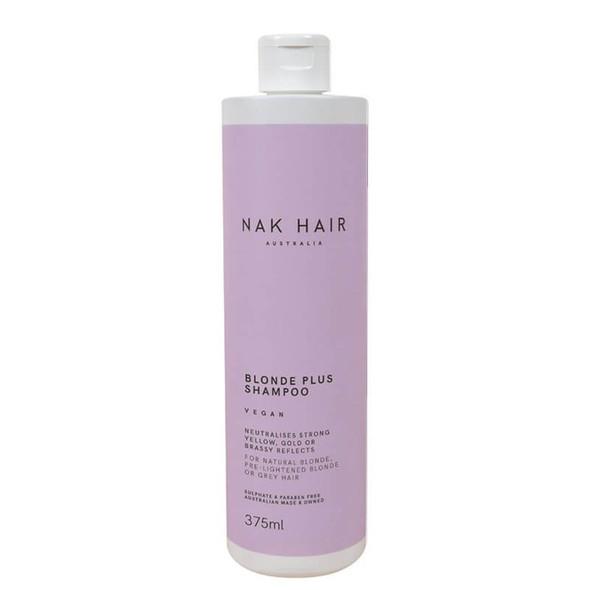 NAK Blonde Plus Shampoo 375ml