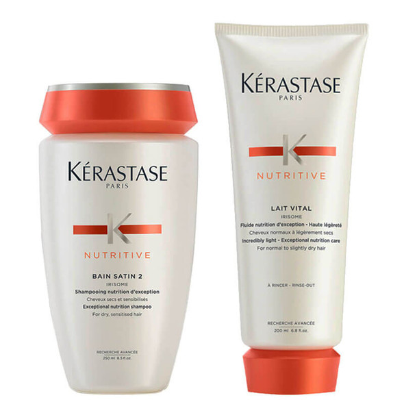 Kerastase Nutritive Shampoo and Conditioner Bundle