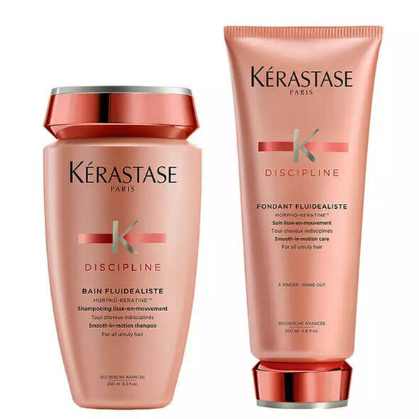 Kerastase Discipline Shampoo and Conditioner Bundle