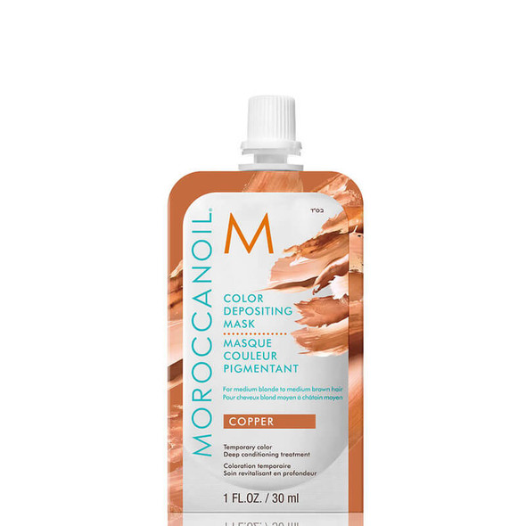 Moroccanoil Color Depositing Mask Copper 30ml