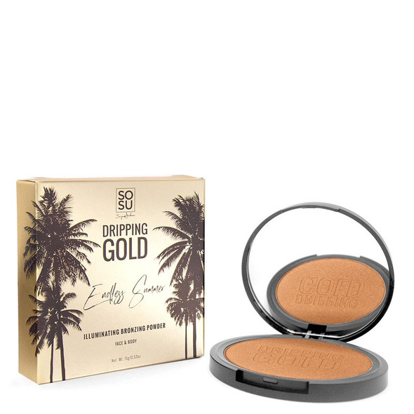 So Sue Me Dripping Gold Illuminating Bronzing Powder 15g