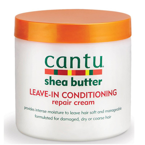 Cantu Shea Butter For Natural Hair Leave in Conditioner Repair Cream 453g