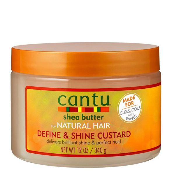 Cantu For Natural Hair Define & Shine Custard 340g