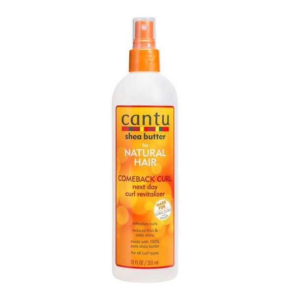Cantu For Natural Hair Comeback Curl Next Day Revitalizer 355ml
