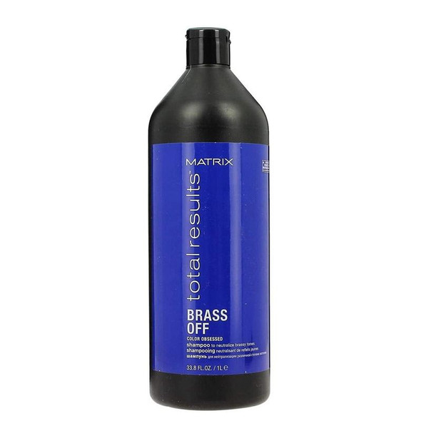 Matrix Total Results Color Obsessed Brass Off Shampoo 1 litre