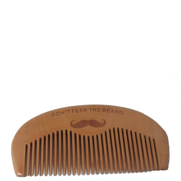 "Beard Comb (Wooden) ""Don't Fear The Beard"""