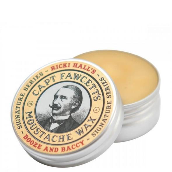 Captain Fawcett's Moustache Wax, Ricki Hall Booze And Baccy 15ml