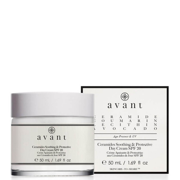 Avant Skincare Ceramides Soothing & Protective Day Cream Spf 20 50ml