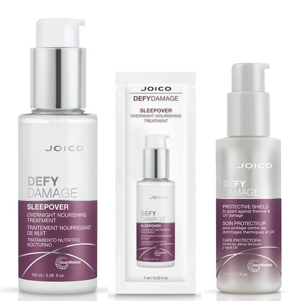 Joico Defy Damage Sleepover Overnight Bundle